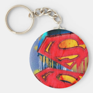 Superman Urban Spraypaint Key Chain