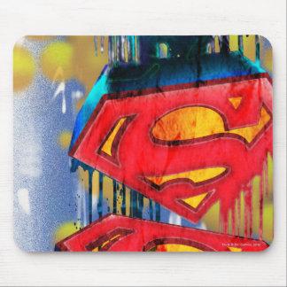 Superman Urban Spraypaint Mouse Pad