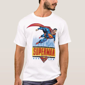 Superman with cityscape T-Shirt