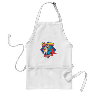 Superman with Krypto Standard Apron