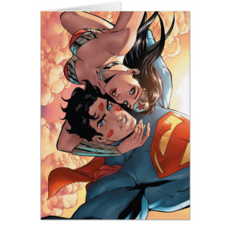 Superman/Wonder Woman Comic Cover #11 Variant Card