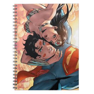 Superman/Wonder Woman Comic Cover #11 Variant Notebook