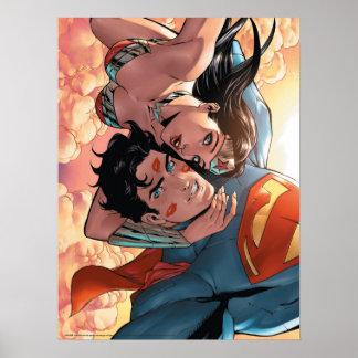 Superman/Wonder Woman Comic Cover #11 Variant Poster