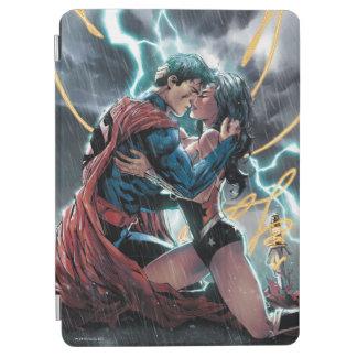 Superman/Wonder Woman Comic Promotional Art iPad Air Cover