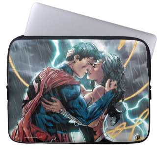 Superman/Wonder Woman Comic Promotional Art Laptop Sleeve