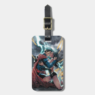 Superman/Wonder Woman Comic Promotional Art Luggage Tag