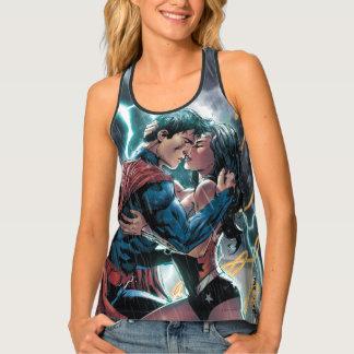 Superman/Wonder Woman Comic Promotional Art Singlet