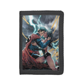 Superman/Wonder Woman Comic Promotional Art Trifold Wallet