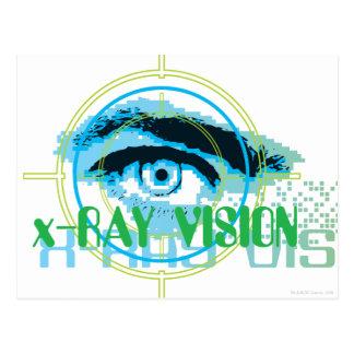 Superman Xray Vision Postcard