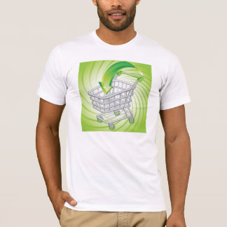 Supermarket Shopping Cart T-Shirt