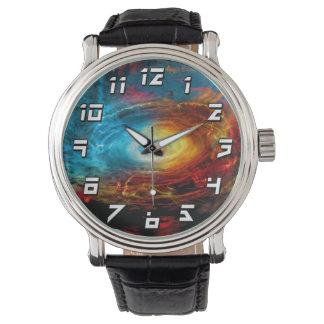 Supermassive Black Hole Illustration Wrist Watch