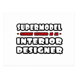 Supermodel .. Interior Designer Postcard