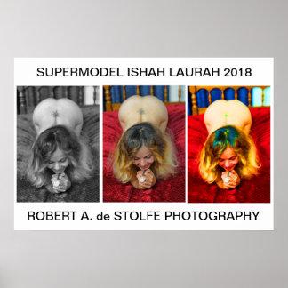 Supermodel Ishah Laurah 2018 Poster