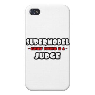Supermodel .. Judge iPhone 4 Cover