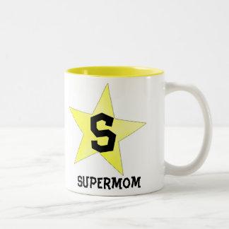 Supermom goblet Two-Tone mug
