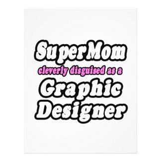 SuperMom Graphic Designer Full Color Flyer