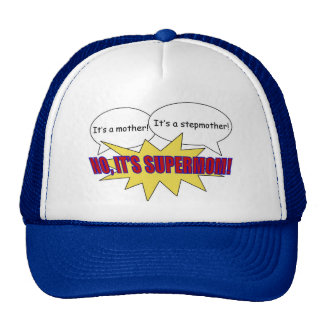 supermom, mom, stepmom hat