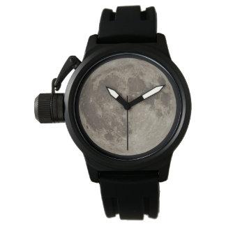 Supermoon Black Wrist Watch
