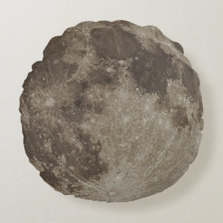 Supermoon Brushed Pillow