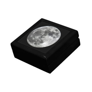 Supermoon Moon Keepsake Box