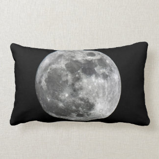 Supermoon Moon Lumbar Pillow