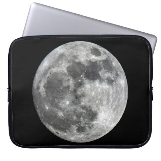 Supermoon Moon Neoprene Laptop Sleeve