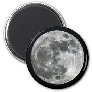 Supermoon Moon Round magnet