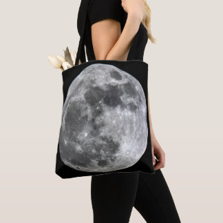 Supermoon Moon Tote Bag