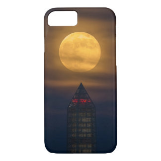 Supermoon Over Washington Monument iPhone 8/7 Case