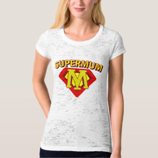 SuperMum Womens Top  Mothers Day Or Birthday