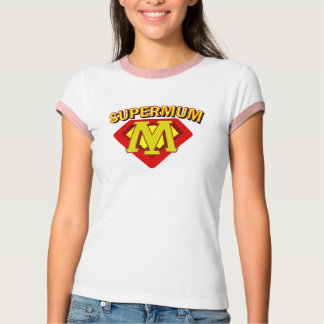 SuperMum Womens Top  Mothers Day Or Birthday Shirt