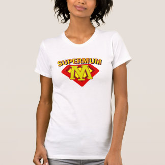 SuperMum Womens Top  Mothers Day Or Birthday Shirts