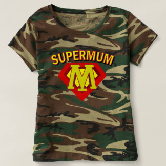 SuperMum Womens Top  Mothers Day Or Birthday T-shirt
