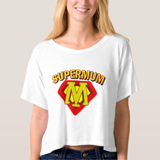SuperMum Womens Top  Mothers Day Or Birthday Tee Shirts