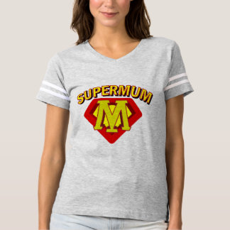 SuperMum Womens Top  Mothers Day Or Birthday Tees