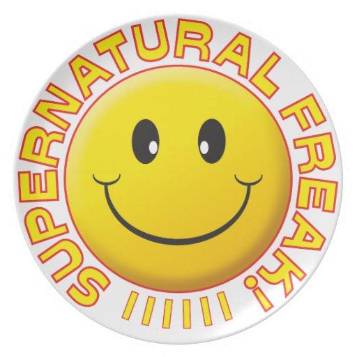 Supernatural Freak Smile Dinner Plate