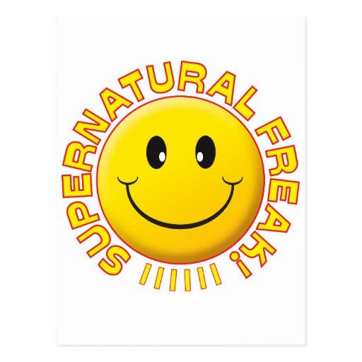 Supernatural Freak Smile Post Card