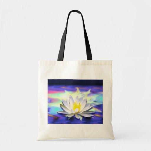 Supernatural Lotus Canvas Bags