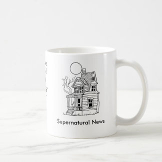 Supernatural News, Where Beli... Basic White Mug