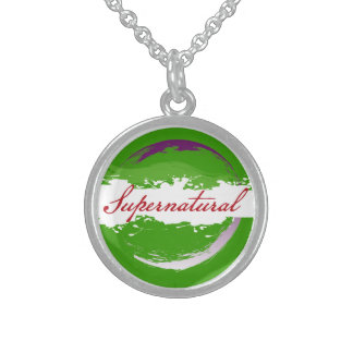 Supernatural Round Pendant Necklace