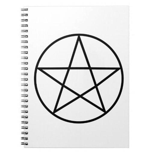Supernatural Symbol Series #4 Spiral Note Book