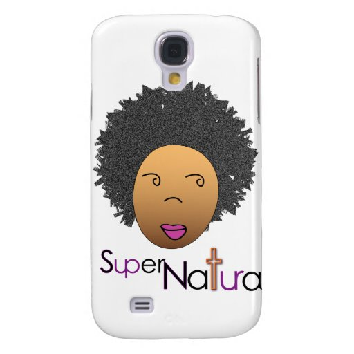 SuperNatural Talk and Text Samsung Galaxy S4 Cases