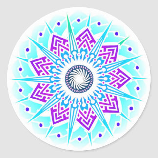 Supernova Flower Air Sticker