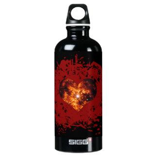 Supernova Heart Galaxy Water Bottle