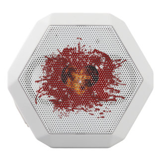 Supernova Heart Galaxy White Bluetooth Speaker