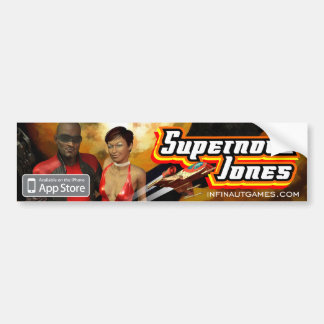Supernova Jones Bumper Sticker