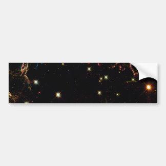 Supernova Remnant Cassiopeia Bumper Sticker