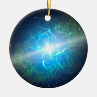 Supernova Round Ceramic Decoration