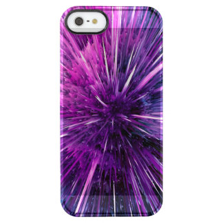 supersonic abstract clear iPhone SE/5/5s case
