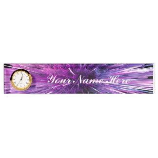 supersonic abstract name plate